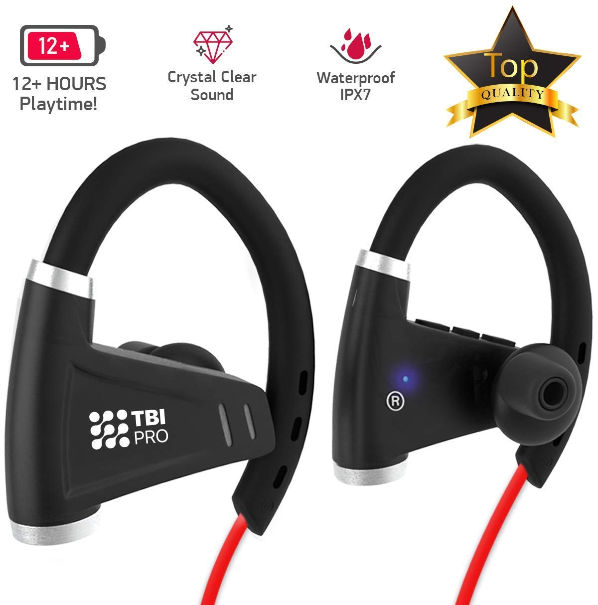 Bluetooth Workout Headphones Best Buy Bluetooth Headphones J B L Bluetooth Headset Vibration Bluetooth Keyboard Touchpad Raspberry Pi: All-New 2019 Bluetooth Headphones W/ 12+ Hours Battery