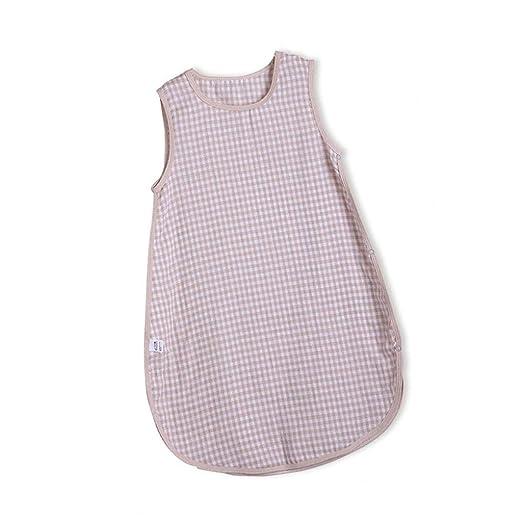 Baby sleeping bag Algodón Muselina para Manta Usable Saco para Dormir, Transpirable Wearable Cochecitos Saco De Dormir (Color : B, Size : M): Amazon.es: Hogar