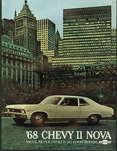 1968 Chevrolet Chevy II Nova sales brochure