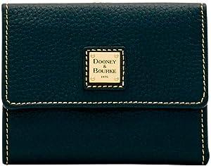 Dooney & Bourke Pebble Grain Framed Credit Card Wallet