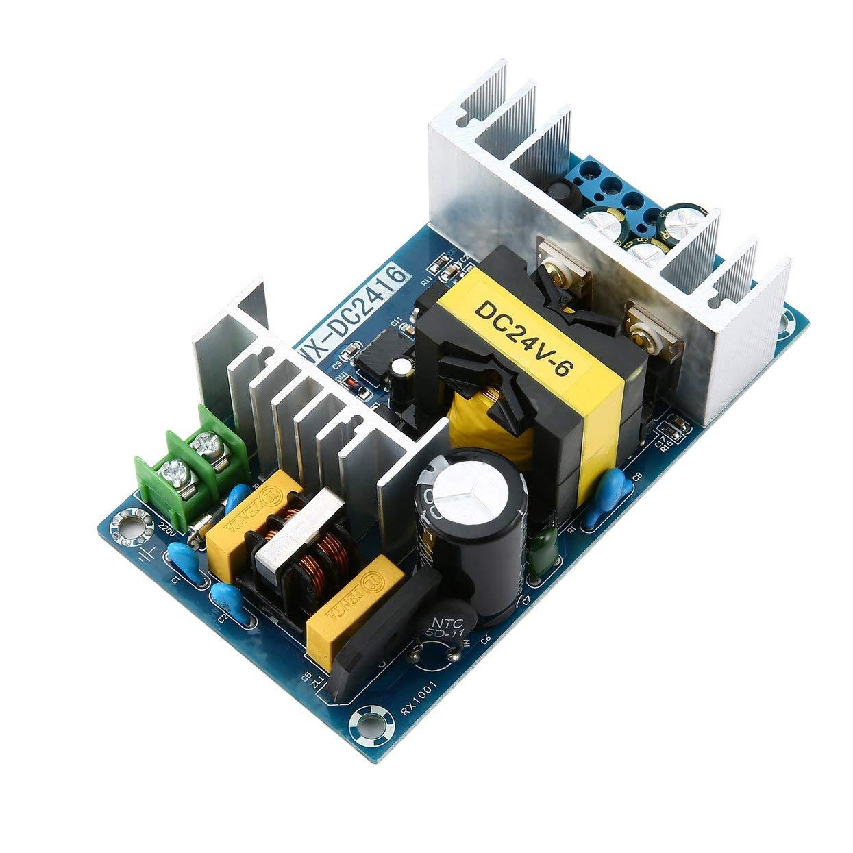 Tellaboull for Inverter AC-DC 24 V 6A 150 W Alimentatore Switching Modulo di Alimentazione Modulo di Alimentazione ad Alta Tensione Modulo di Alimentazione CC