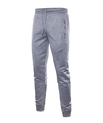 Pantalones De Chándal Largos Fitness De Hombre para Gimnasio ...