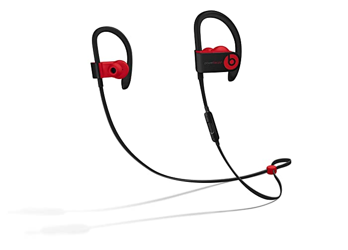 Powerbeats3 Wireless Earphones - The Beats Decade Collection - Defiant Black-Red