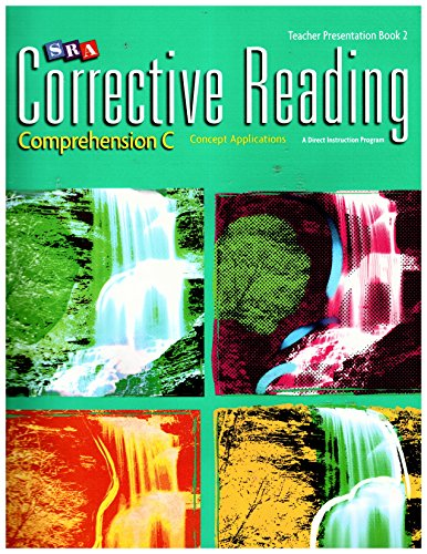 SRA Corrective Reading Teacher Presentation Book 2 : Comprehension C