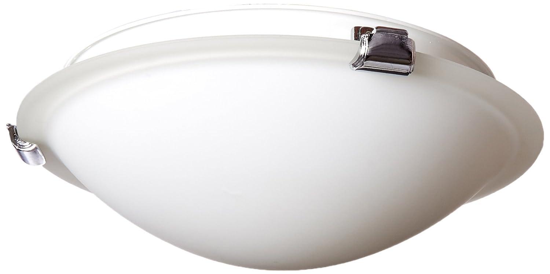 Brushed Nickel AC2354BN Artcraft Lighting Clip Flush Small Round Flush Mount Light