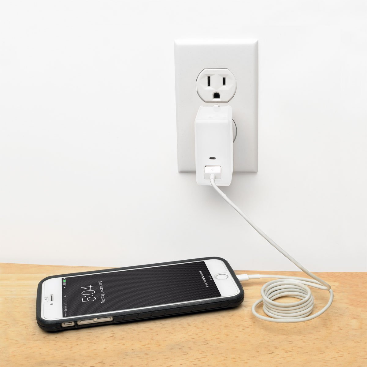 Tripp Lite 1-Port Quick Charge 3.0 USB Wall / Travel Charger w/ Autosensing for Tablet & Mobile Devices (U280-W01-QC3)