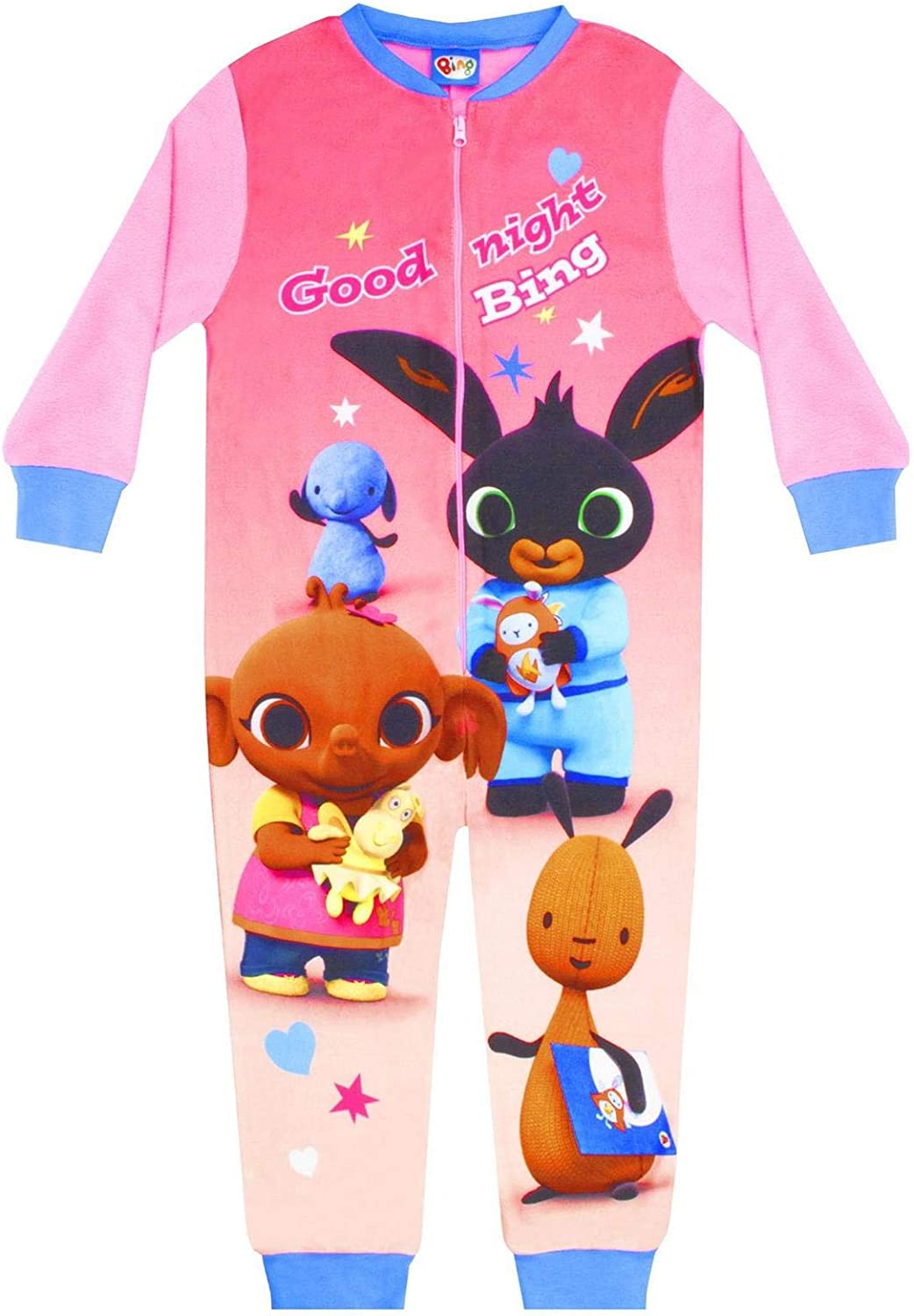 Bing Bunny CBeebies and Friends Good Night Bing Girls Character Onesie