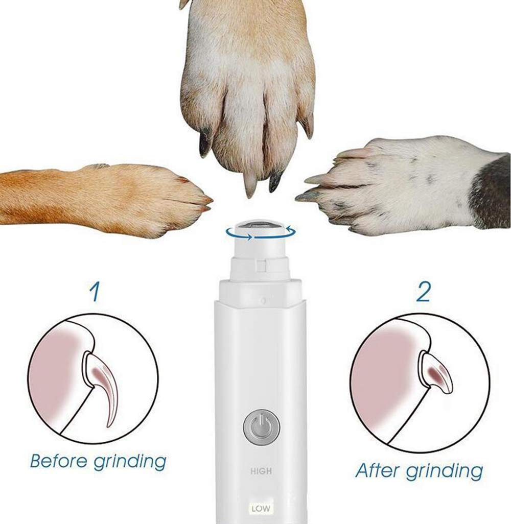 Pet Nail Polisher Pet Charging Nail Polisher Electric Nail Polisher Speed Control Nail Polisher
