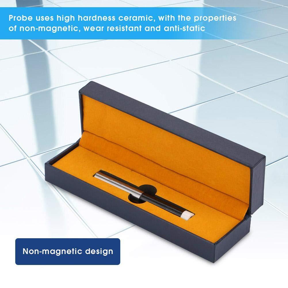 Mechanical Edge Finder,Non-Magnetic High Precision Ceramic Edge Finder,CNC Milling Machine Lathe Rotary Anti-Static Edge Measurement Tool