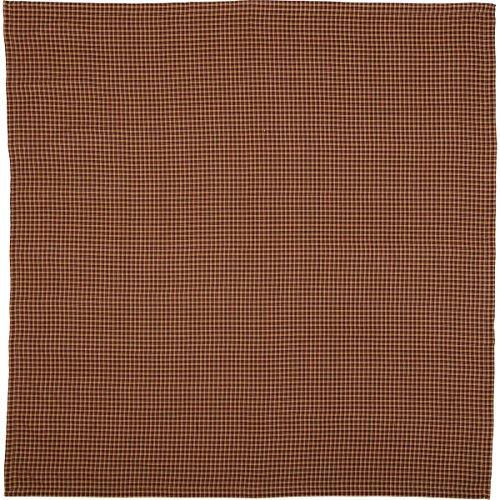 VHC Brands 10434 Patriotic Patch Plaid Table Cloth 60x60
