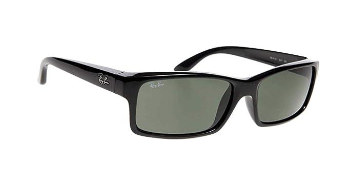 amazon com ray ban rb4151 square active lifestyle black sunglasses rh amazon com