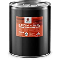Alliance Chemical - N-Propyl Alcohol (N-Propanol) - One Sealed Five Gallon Pail - High Purity