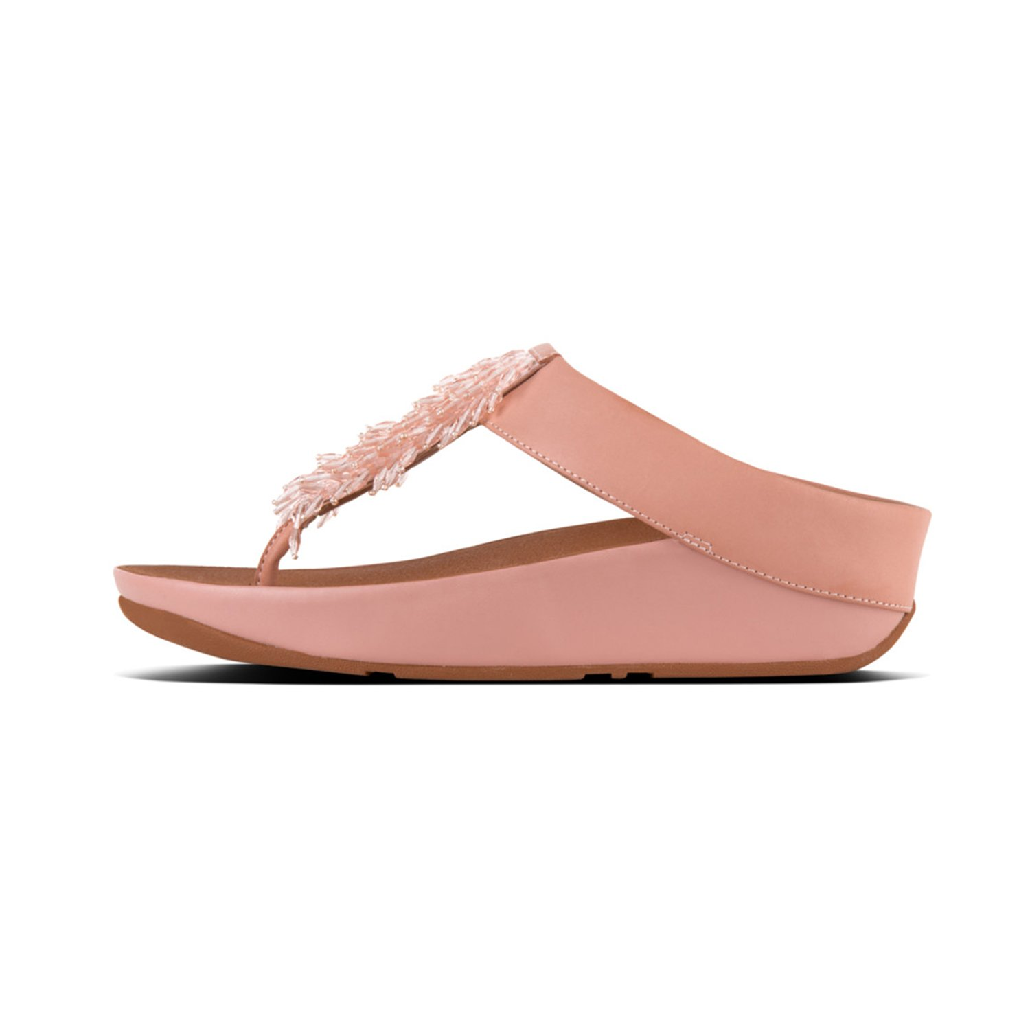FitFlop (Dusky Damen Rumba TM Toe-Thong Sandales Crystal Zehentrenner, Pink (Dusky FitFlop Pink 535) 94c2db