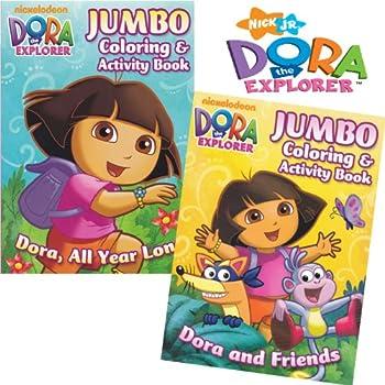 Dora The Explorer Coloring Book Games Periodic Tables