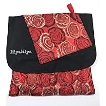 "HiyaHiya 5"" Sharp Limited Edition Interchangeable Knitting Needles Gift Set (Red)"