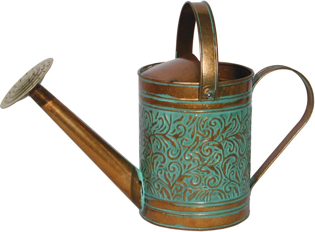 Robert Allen Home & Garden Robert Allen MPT01186, Vintage Copper Morgan Metal Watering Can, 1 Gallon