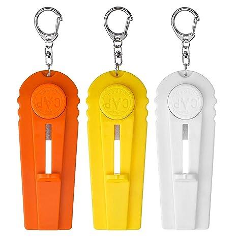 Decareta - Abridor de botellas de 3 piezas, con llavero para ...