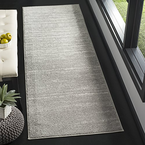 Safavieh Adirondack Collection ADR113C Light Grey and Grey Modern Abstract Runner (2'6