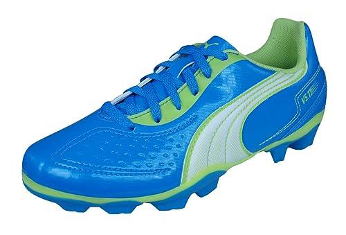 Puma V5.11 R MG Jr Niños Botas de fútbol: Amazon.es: Zapatos y complementos