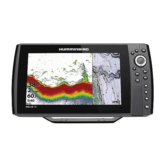 Amazon.com: Humminbird Helix 10 Chirp MSI GPS G3N - Tabla de ...