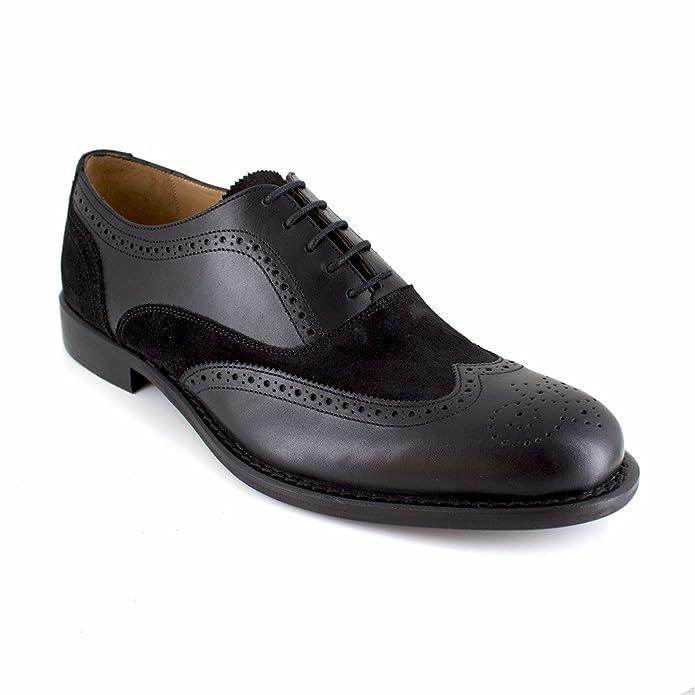 J.bradford Derby  Cuir  JB-AVETS Noir - Chaussures Derbies Homme