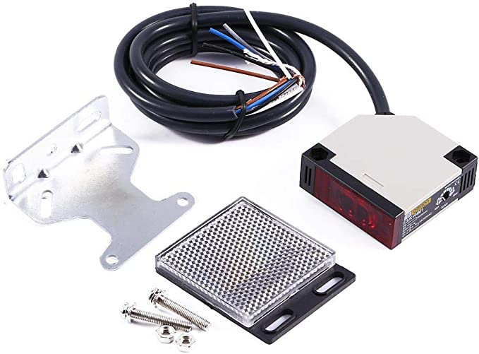Interruptor de sensor fotoel/éctrico de reflexi/ón especular CA 90-250V 3A E3JK-R4M1 Interruptor fotoel/éctrico