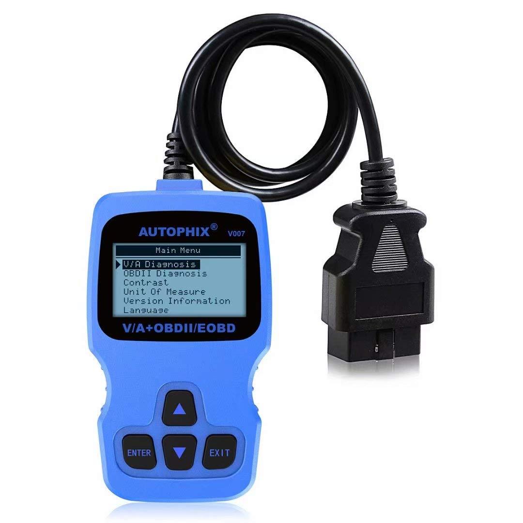 AUTOPHIX V007 Code Reader Diagnostic Scanner Oil Reset TP Position Check Brake Pad Reset OBD2 Scan Tool for Skoda Seat Golf Passat Brand car