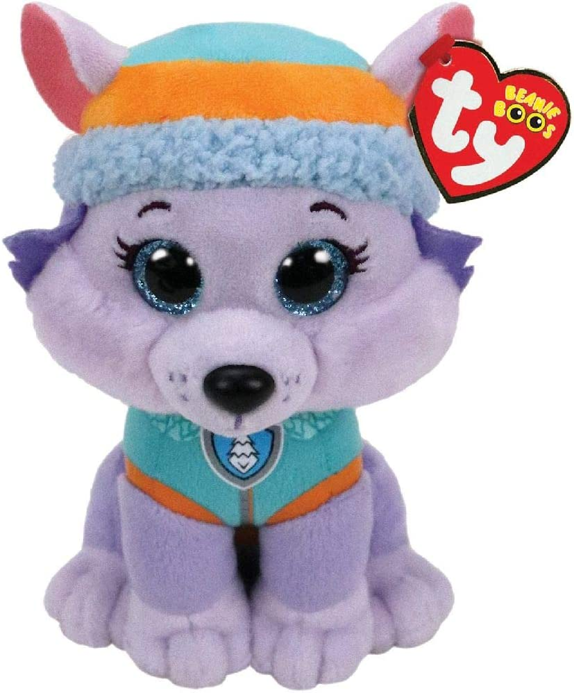 Ty- Patrulla Canina Small-Everest - Peluche, Multicolor