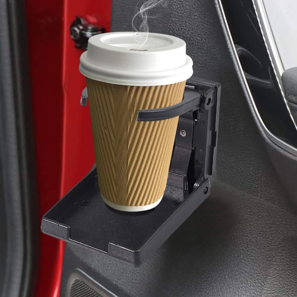 AUTOUTLET 2 Packs Universal Adjustable Drinking Cup Holder Foldable for Car Truck Boat Van /…