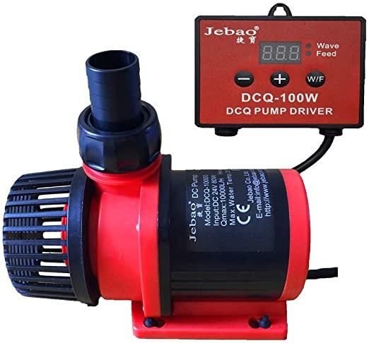 Jebao 80W 10000LPH Aquarium DC Controllable Water Return Pump Fish Tank Pump