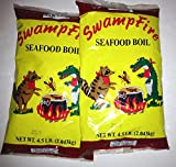 Swamp Fire Seafood Boil (Crawfish, Crab, Shrimp) 4.5# (2pk)
