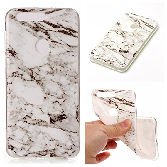 new concept 54bd2 7163b Amazon.com: honor 8 White Marble Case,IVY [Marble] honor 8 TPU Case ...