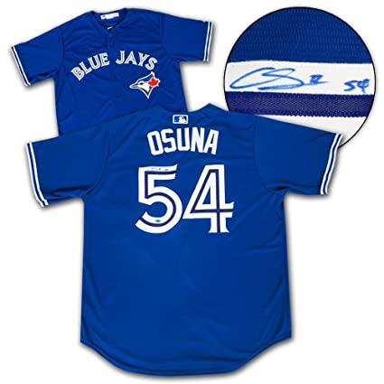 6ff7bf82 Image Unavailable. Image not available for. Color: Roberto Osuna  Autographed Jersey - Replica - Autographed MLB Jerseys
