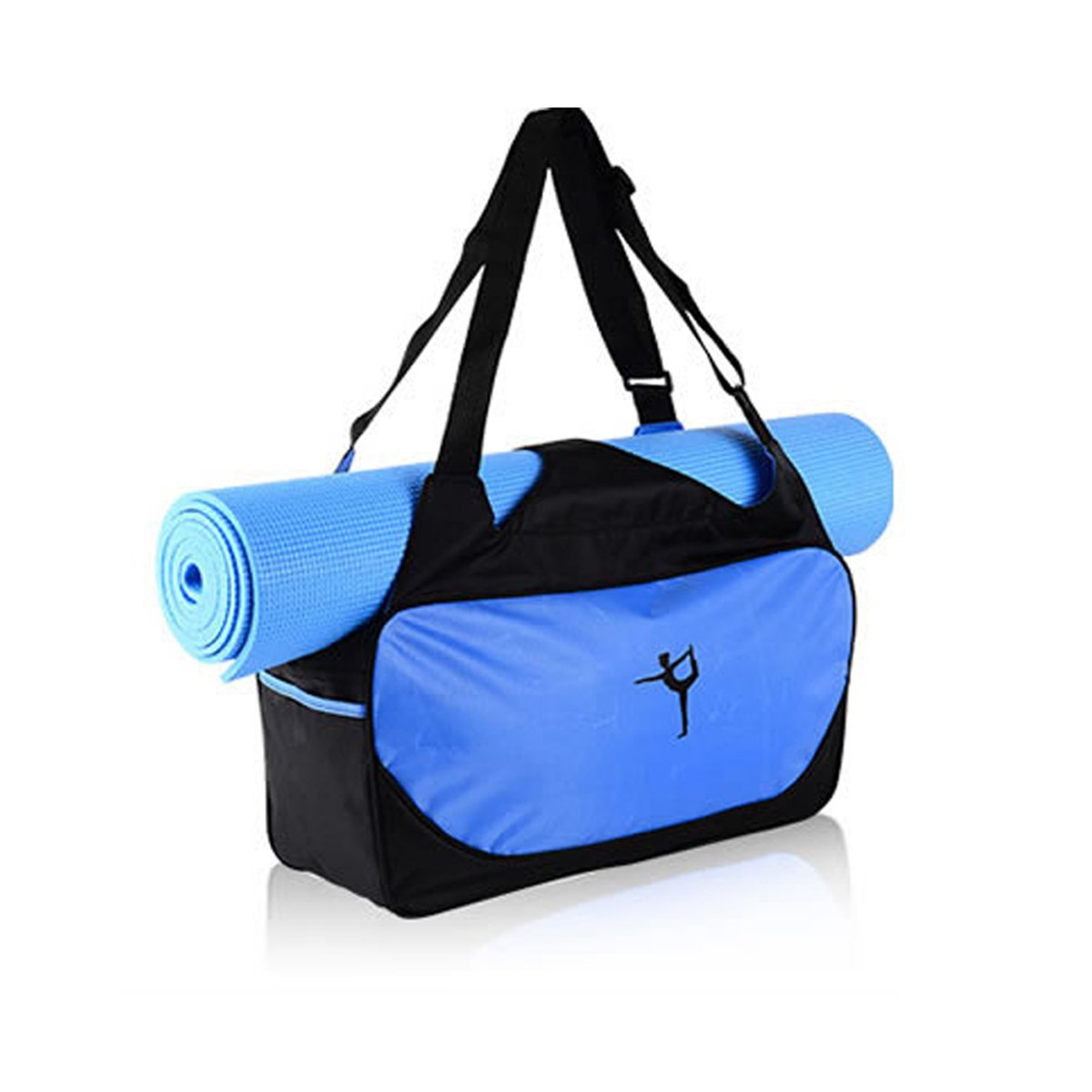 Yoga Mat Bag Tote Holder Waterproof Sport Duffle Carrying Gym Fitness Handbag Workout Sports Training Women Girl urxcellent