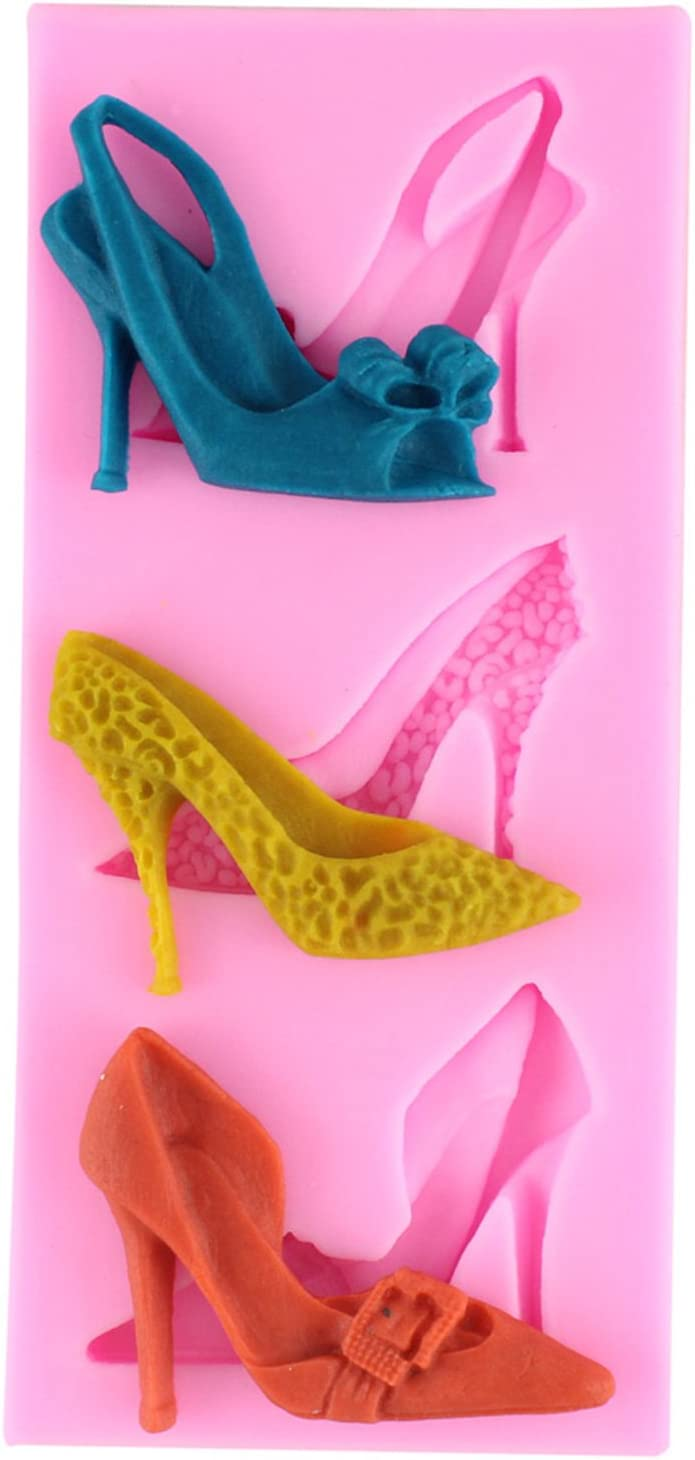Keychain Mold Earring Mold Stiletto Silicone Mold High heels Silicone Resin Molds