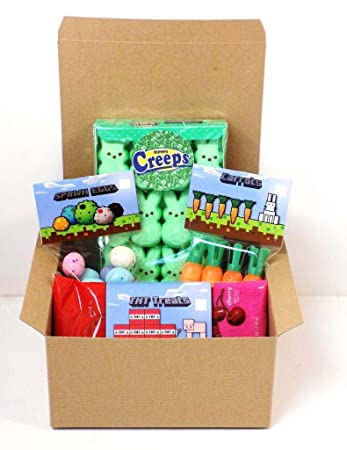 Amazon everyones favorite video game candy gift easter themed everyones favorite video game candy gift easter themed basket negle Images