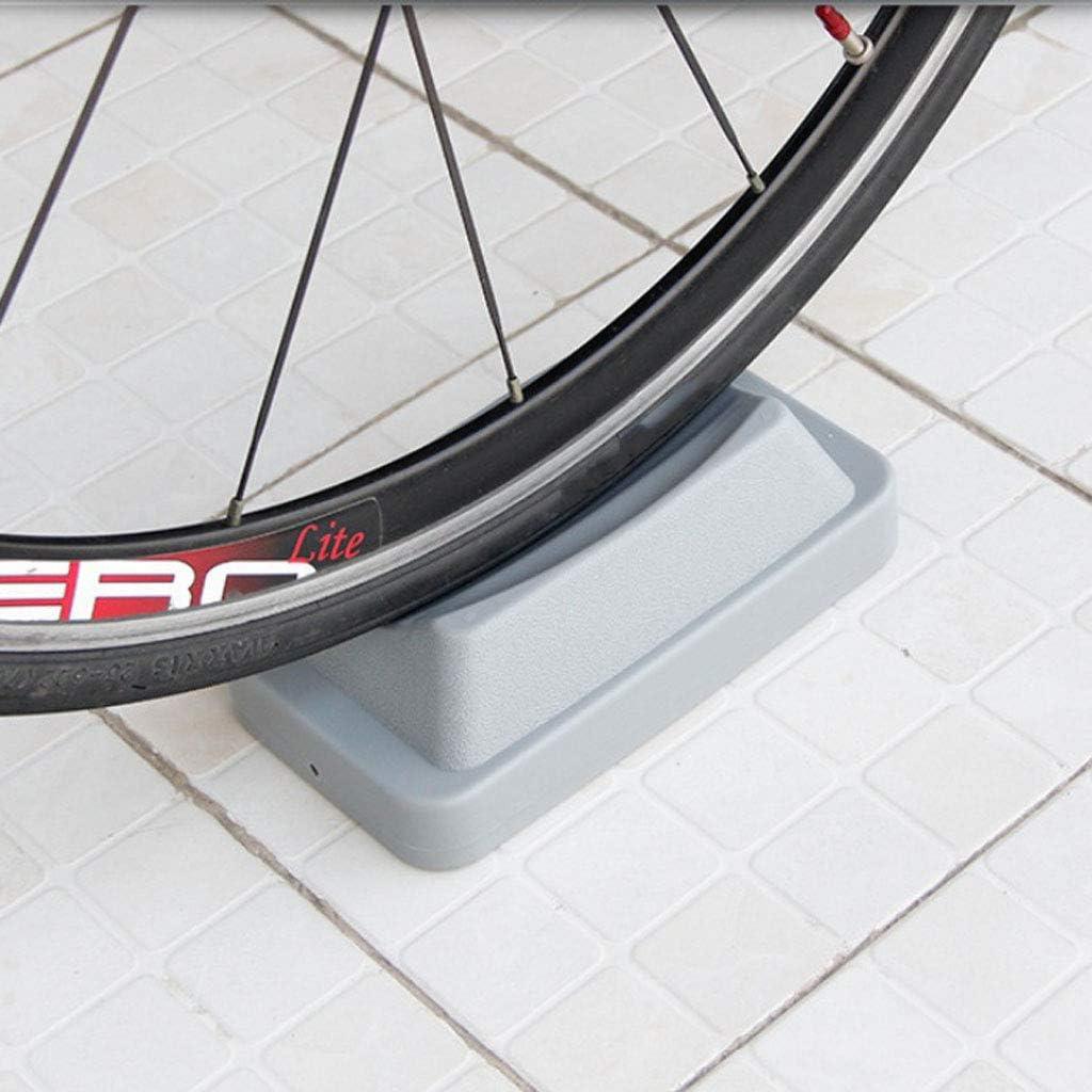 SaniMomo Soporte T/écnico De Pl/ástico De La Rueda Delantera Plataforma De La Rueda Delantera para Bicicleta MTB