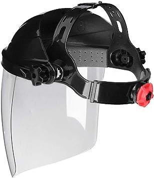 Safety Face Eye Protect Shield Clear Grinding Solder Flip Glasses Welding Helmet