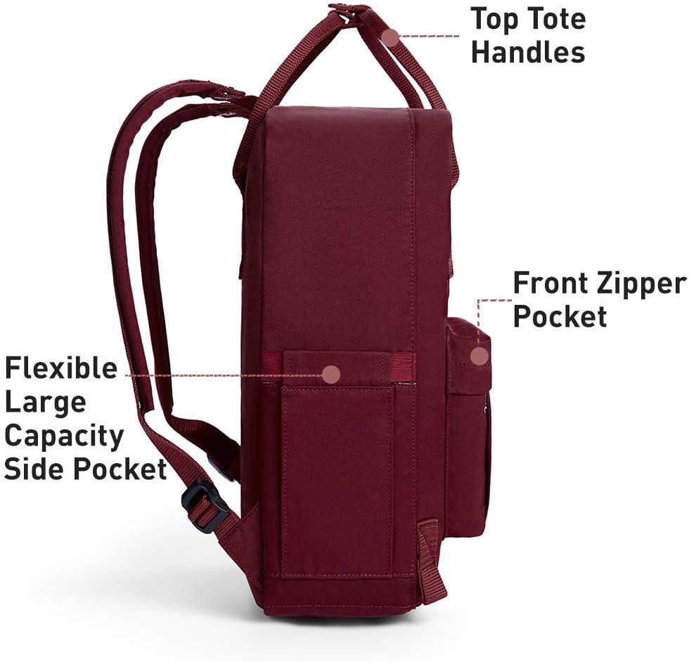 KALIDI Sac /à Dos Loisir Randonn/ée Voyages Ecole Backpack en Oxford Toile pour Ordinateur Portable Tablette Laptop MacBook 14 Pouces