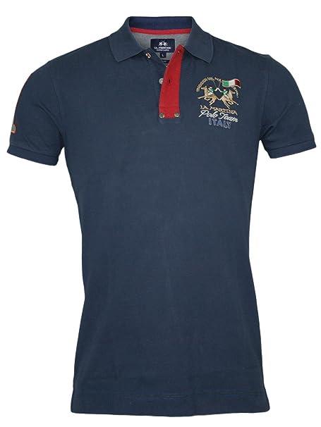 La Martina Hombre Diseñador Polo Shirt Camisetas - Italy -3XL ...