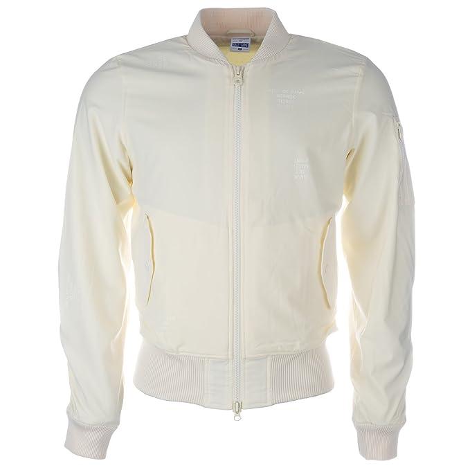 Reebok - Chaqueta - para hombre blanco Off white X-Large ...