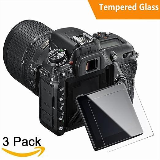 2 opinioni per Pellicola Protettiva per Nikon D7500, (3 Pack ) Kimilar Pellicola Vetro