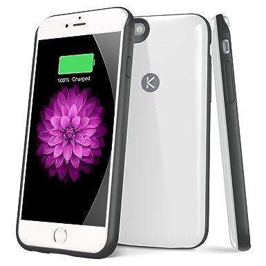 iPhone 6 6S caso SOLEMEMO Ultra Slim Funda de carga batería ...