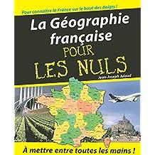 La géographie française pour les nuls