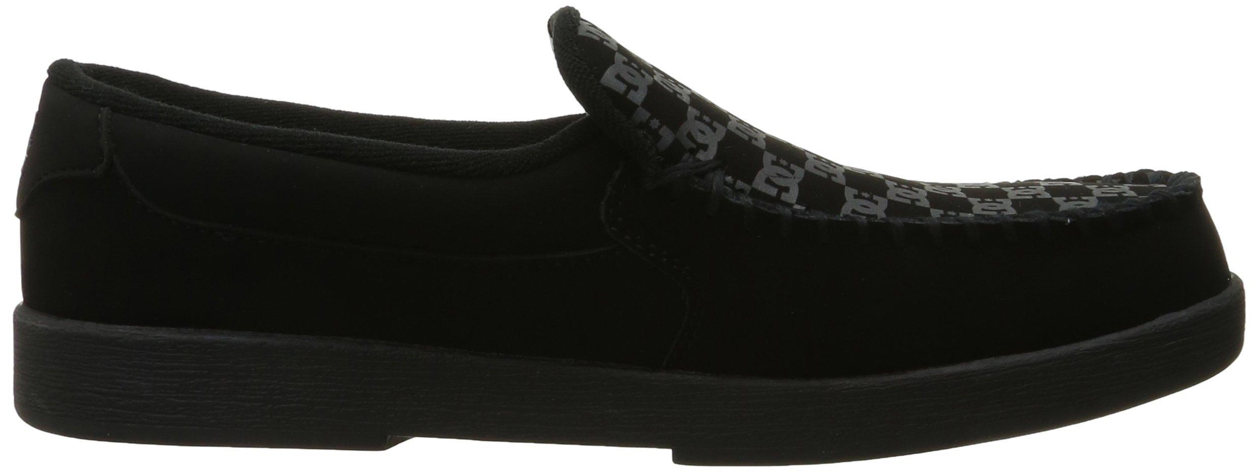 DC Men's Villain TX Slip Skate Shoe, Black Print, 10 D D US by DC (Image #7)