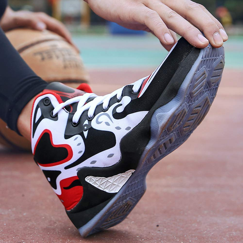 Amazon.com | COSDN Mens Cool High-Top Basketball Shoes Outdoor Trainers Durable Sport Running Youth Breathable Sneakers | Basketball