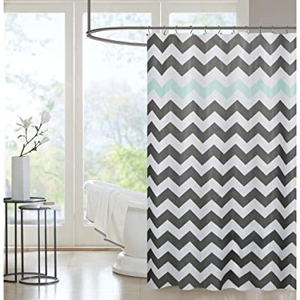 Washable Shower Curtain Liner Cloth Mildew Resistant Machine Waterproof Curtains