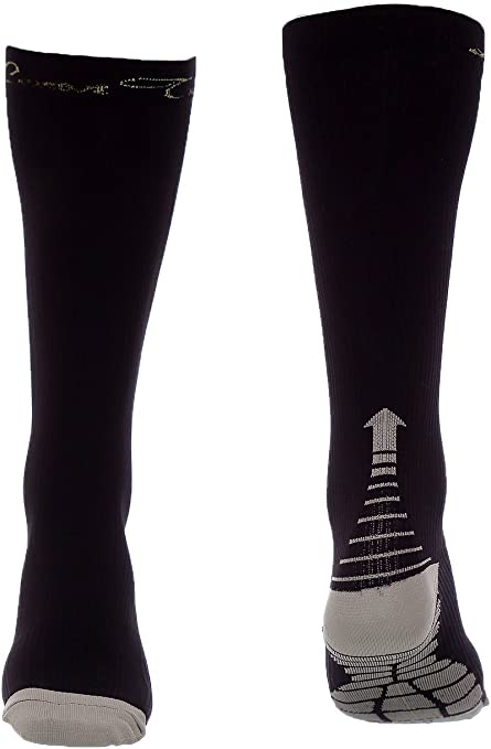 Compression Socks Athletic Stockings for Running Stamina Recovery Flight Travel