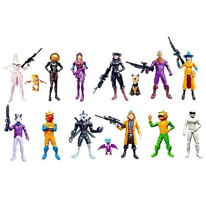 "24Pcs//Set Fortnite 4.5/"" Action Figure Toy Kids Boys Gift Doll Model playset"