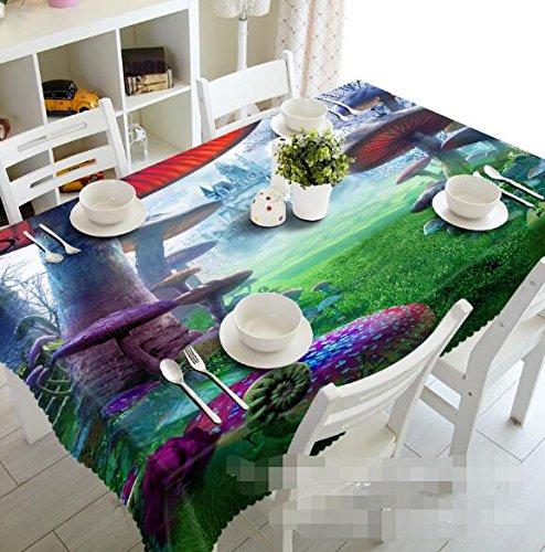 3d selva seta pradera castillo 8904 mantel funda para mesa ...